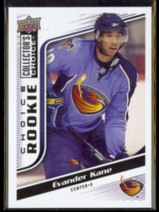 EVANDER KANE 2009 Upper Deck CC Rookie #234.  THRASHERS