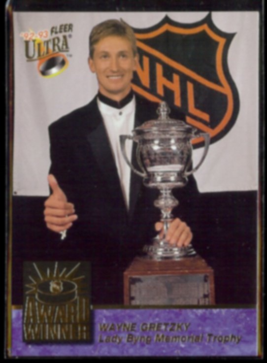 WAYNE GRETZKY 1992 Ultra Award Winner Insert #6 of 10.  KINGS