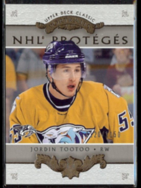 JORDIN TOOTOO 2003 UD Classic Portraits #'d Insert 1120/1150.  WHEAT KINGS