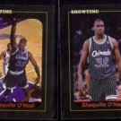 SHAQUILLE O'NEAL (2) Card 1993 Showtime Promos .  MAGIC - Glossy