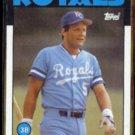 GEORGE BRETT 1986 Topps #300.  ROYALS