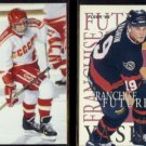 ALEXEI YASHIN 1992 4 Sport #152 + 1995 Fleer Franchise Futures Insert #9 of 10.