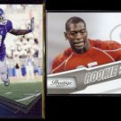 JAMES STARKS 2010 Press Pass Rookie #2 + 2010 Panini Prestige RC #248.  UB / PACKERS
