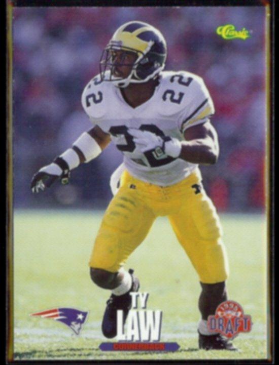 TY LAW 1995 Classic Draft #23.  MICHIGAN