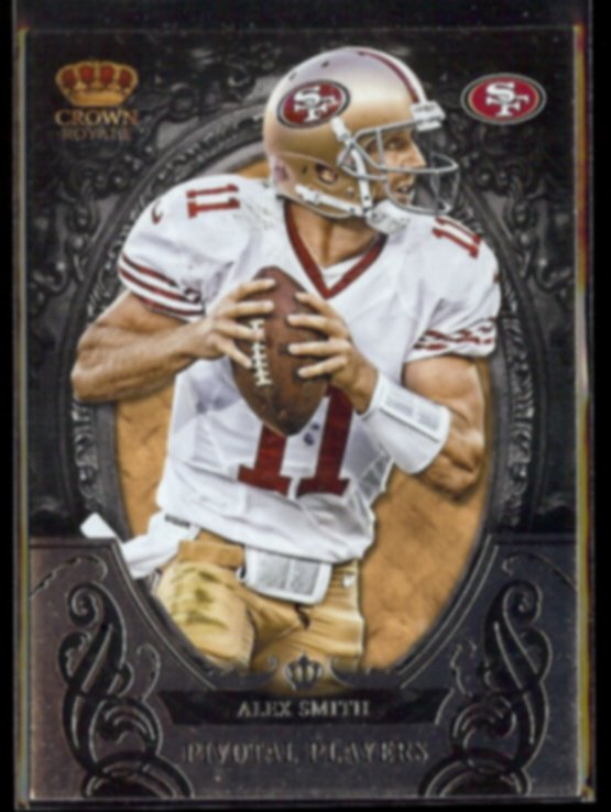 ALEX SMITH 2012 Panini Crown Royale Pivotal Players #25.  49ers