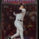 RICKY LEDEE 1998 Topps World Series Highlights Foil #233.  YANKEES vs. PADRES