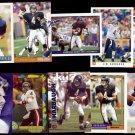 JIM HARBAUGH (10) Card Lot (1991 - 1993 + 1999).  BEARS / RAVENS - SD