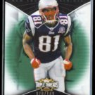 RANDY MOSS 2009 Topps Triple Threads #'d Insert 070/149.  PATRIOTS