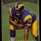 ORLANDO PACE 1997 Stadium Club Rookie #325.  RAMS