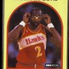 MOSES MALONE 1989 Hoops #4.  HAWKS