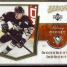 SIDNEY CROSBY 2007 UD MVP Monumental Moments Insert #MM3.  PENGUINS