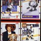 WAYNE GRETZKY (4) Card 1990 Score Lot #'s 1, 347, 361, 352.  KINGS