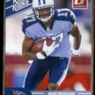 DAMIAN WILLIAMS 2010 Panini Donruss Rated Rookie #21.  TEXANS