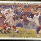 ELI MANNING 2008 Upper Deck Masterpieces #3.  GIANTS