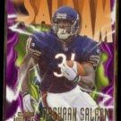 RASHAAN SALAAM 1997 Skybox Impact #97.  BEARS