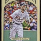 DUSTIN PEDROIA 2011 Topps Gypsy Queen #248.  RED SOX