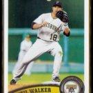 NEIL WALKER 2011 Topps #245.  PIRATES