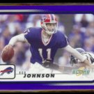 ROB JOHNSON 2001 Score #24.  BILLS