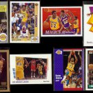 MAGIC JOHNSON (8) Card Early 90's Lot.  LAKERS