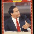 CHRIS BERMAN 1989 Pro Set Announcer #5.  ESPN