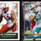 NDAMUKONG SUH 2010 Sage In Training #68 + 2015 Topps #85.  LIONS / DOLPHINS
