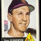 ENOS SLAUGHTER 1991 Topps Archives (1953 Series) #41.  CARDS
