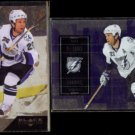MARTIN St. LOUIS 2009 Upper Deck Black Diamond #88 + 2009 UD SPX #45.  LIGHTNING