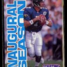 STEVE BEUERLEIN 1996 Kenner Starting Lineup Card N#OB.  JAGUARS