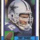 TONY TOLBERT 1990 Topps #484.  COWBOYS