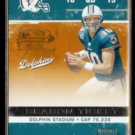 TRENT GREEN 2007 Playoff Contenders Season Ticket #53.  DOLPHINS