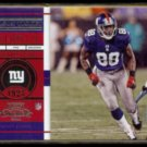 HAKEEM NICKS 2012 Panini Playoff Contenders #56.  GIANTS - Season Ticket