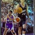 JEFF HORNACEK 1999 Topps Gold Label #3.  JAZZ