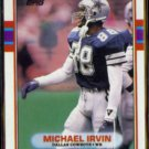 MICHAEL IRVIN 1989 Topps Super Rookie #383.  COWBOYS