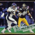 BILL ROMANOWSKI 1998 Ultra #275.  BRONCOS