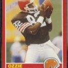 OZZIE NEWSOME 1989 Score #124.  BROWNS
