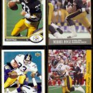 MERRIL HOGE (4) Card Lot (1991 - 1993)  STEELERS