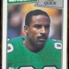 MIKE QUICK 1987 Topps #298.  EAGLES