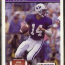 TY DETMER 1991 Courtside Draft Pix #AW2.  BRIGHAM YOUNG