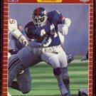 MAURICE CARTHON 1989 Pro Set #282.  GIANTS