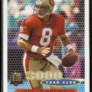 STEVE YOUNG 1996 Topps 3000 Yard Club #384.  49ers