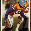 MIKE CROEL 1993 Topps Gold Insert #195.  BRONCOS