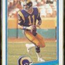 JIM EVERETT 1988 Topps #288.  RAMS