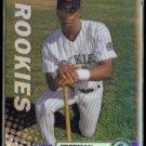 CHOO FREEMAN 1999 Topps Finest Rookie Refractor #295.  ROCKIES