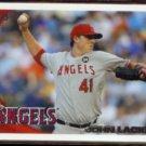 JOHN LACKEY 2010 Topps #54.  ANGELS
