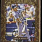 ROBIN YOUNT 2011 Topps Gypsy Queen The Great Ones Insert #GO18.  BREWERS