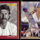 ROBIN YOUNT 1991 Studio #80 + 1993 Flair #232.  BREWERS
