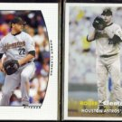 ROGER CLEMENS 2005 Donruss Team Heroes + 2006 Topps Heritage.  ASTROS