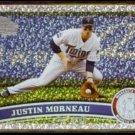 JUSTIN MORNEAU 2011 Topps Diamond Anniversary Insert #293.  TWINS