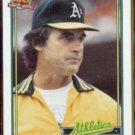 TONY LaRUSSA 1991 Topps #171.  A's