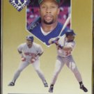 KIRBY PUCKETT 1991 Ultra Team Insert #8 of 10.  TWINS